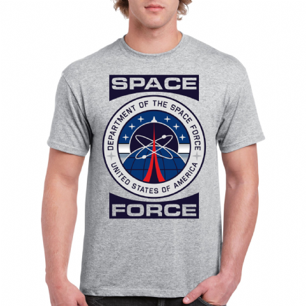 Space Force US Department of the Space Force Design T-Shirt